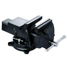 Mechanics Bench Vise Bessey 6 In Heavy Duty Bench Vise With Swivel Base Bv Hd60 The