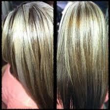 chocolate hair with platinum highlight pictures platinum blonde highlights and chocolate brown hair color hair