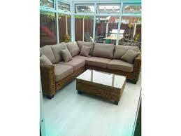 rattan corner sofa abaca rattan corner sofa