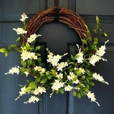 summer wreath wreath for front door summer wreath grapevine wreath door wreath