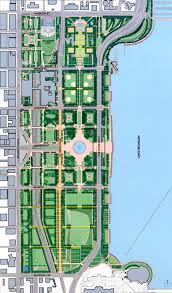 grant park chicago map grant park framework plan