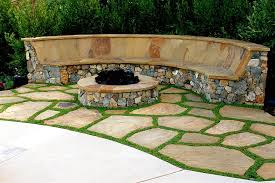Firepit Bench Curved Pit Bench Plans Curved Firepit Bench