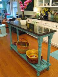 Narrow Kitchen Table Best 25 Turquoise Kitchen Tables Ideas On Pinterest Distressed