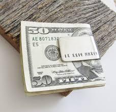 Money Wedding Gift Roman Numeral Money Clip Special Date Money Clip Wedding Date