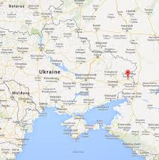Map Of Ukraine And Crimea Another East Ukraine City Falls To Pro Russian Protesters As