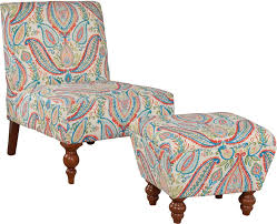 Turquoise Chair Bungalow Rose Blevins Slipper Chair And Ottoman U0026 Reviews Wayfair