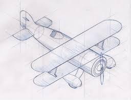 biplane travel decor living room pinterest isometric sketch