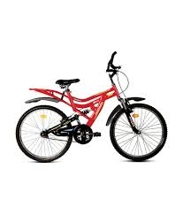 redcolor hercules dynamite 26 red color bicycle buy online at best price