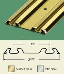 stanley national hardware 6 ft bi pass sliding closet door track