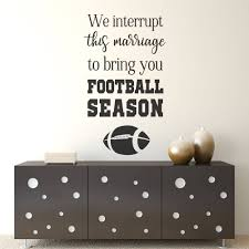football decor football signs football decal football