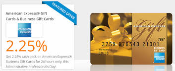 gift card business amex business gift cards 2 25 via topcashback today only