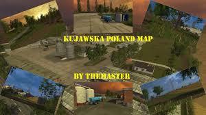 Map Poland Fs15 Kujawska Poland Map Youtube