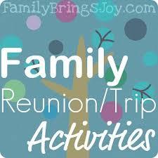 best 25 family reunion activities ideas on reunions