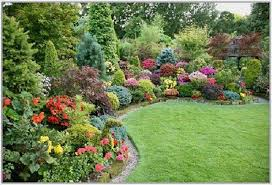 Plants For Front Yard Landscaping - front yard landscaping ideas showing green garden with green grass