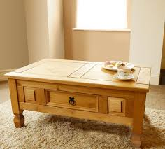 Buy Coffee Table Uk Mews Corona 1 Drawer Coffee Table Mexican Pine Amazon Co Uk