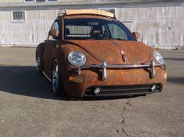volkswagen beetle modified interior is this one of the coolest vw new beetles around or what w video
