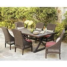 amazon com patio furniture outdoor lawn u0026 garden hampton bay