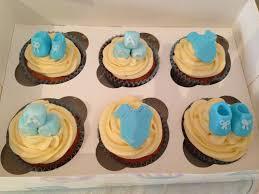 boy baby shower cupcakes daisy bakes