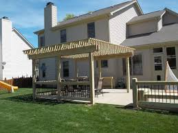 Building A Pergola On Concrete by Custom Deck And Pergola Builder Serving Greenwood Indianapolis