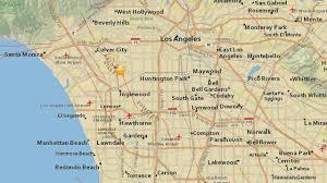 Newport Inglewood Fault Map 3 3 Magnitude Earthquake Strikes Near Baldwin Hills Abc7 Com