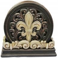Wholesale Fleur De Lis Home Decor Home Decor Coasters Iwgac Gifts Collectibles Cast Iron