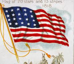 American Flag With Yellow Fringe American Flag History Who Made The American Flag