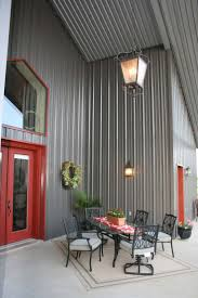 Burgundy Metal Roof Pictures by Best 25 Metal Buildings Ideas On Pinterest Pole Barn Shop Pole