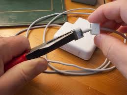 repairing magsafe charger for apple macbooks the magnetic end