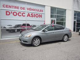 nissan canada executive team used 2013 nissan sentra sl cuir navigation for sale in montreal