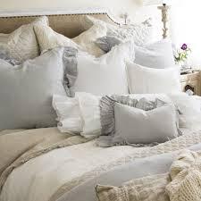 Bedding Shabby Chic by Shabby Chic Cottage Pom Pom At Home Ruffled Charlie Duvet