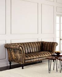 Tufted Leather Sofa Winda  Furniture - Hickory leather sofa
