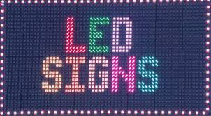 lighted message board signs led message boards