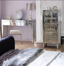 glass vanity table with mirror glass vanity table with mirror mirrored bedside table set mirrored