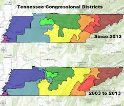 Tennessee Political Map by Will Tennessee Be Forced To Redraw Legislative Districts By The