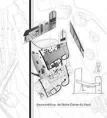 notre dame du haut floor plan apuntes revista digital de arquitectura septiembre 2009
