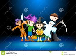 free halloween party clipart kids halloween party royalty free stock photography image 21556817