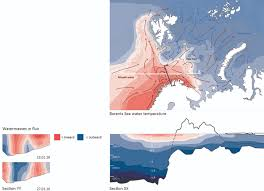 Barents Sea Map Invisible Lines And Liquid Mass The Urbanisation Of The Sea