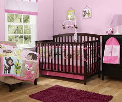 Bedding Nursery Sets Baby Boom Woodland Crib Nursery Set Pink 10