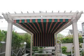 White Vinyl Pergola Kits by Pergola Canopies Shadefx And Ez Shade Canopy