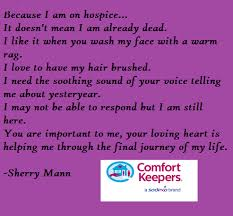Comfort Keepers Schedule Comfort Keepers Comfort Care A Poem Senior Care Blog For