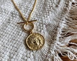 necklace pendants etsy images Gold pendant etsy jpg