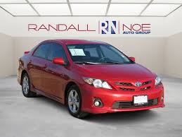 toyota corolla s special edition 2013 pre owned 2013 toyota corolla s special edition 4d sedan in