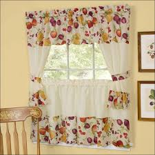 Contemporary Kitchen Curtains And Valances kitchen kitchen window treatments valances kitchen curtains