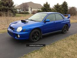 2004 subaru wrx modded 2002 subaru impreza wrx sti related infomation specifications