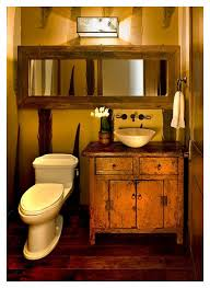 Cabin Bathroom Mirrors by Remarkable Rustic Log Cabin Bathroom Mirrors Picture Inspirations