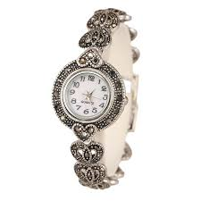 bracelet design watches images New 2017 fashion designer promotion plated antique silver jpg