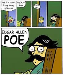 Edgar Allen Poe Meme - poe little meme by lordbezalel on deviantart
