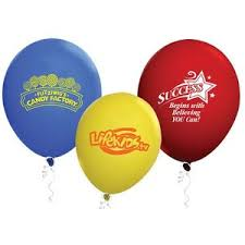 personalized balloons custom balloons personalized with your logo inkhead