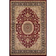 awesome traditional oriental medallion design burgundy area rug