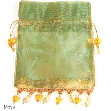 gold organza bags beaded organza bags 12 pcs favor bags favor packaging